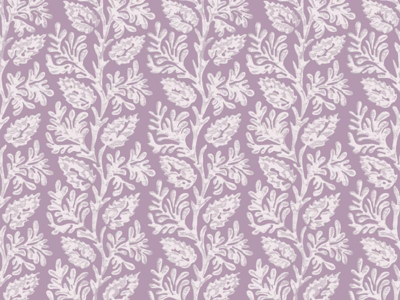 Alicia Stripe White on Lilac
